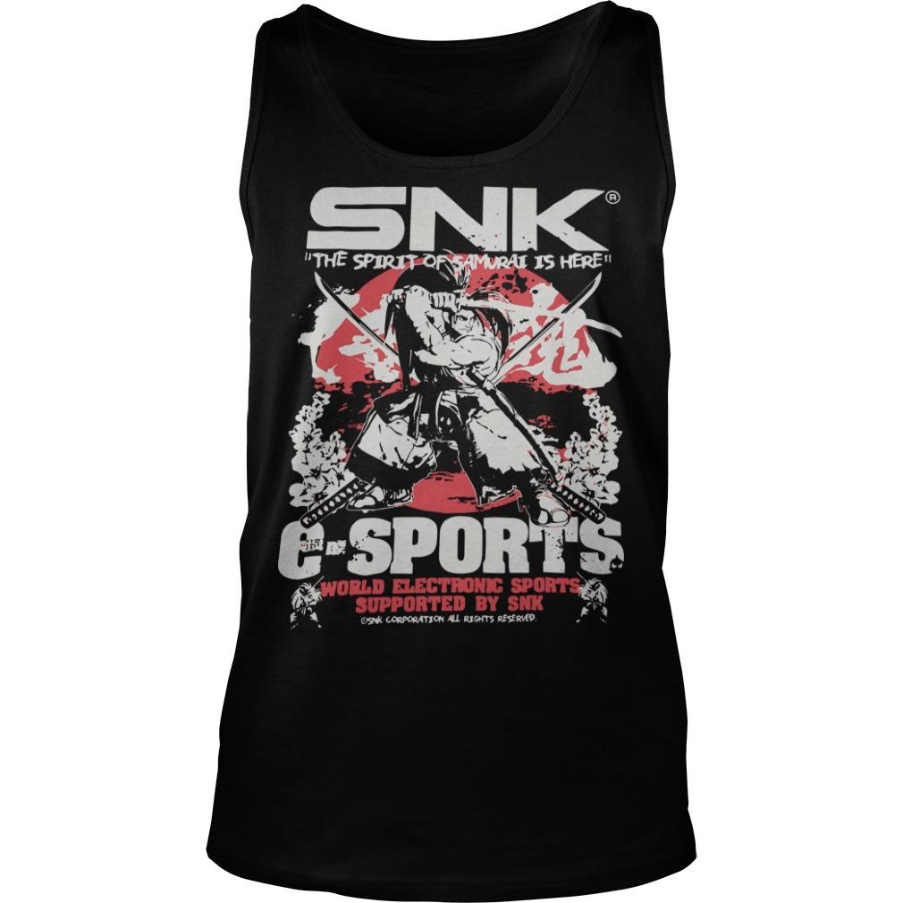 Evo 2019 Snk The Spirit Of Samurai Is Here Esports Tank Top