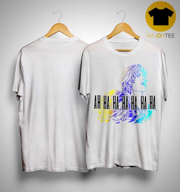 Final Fantasy Tidus Ah Ha Ha Ha Ha Ha Ha Shirt