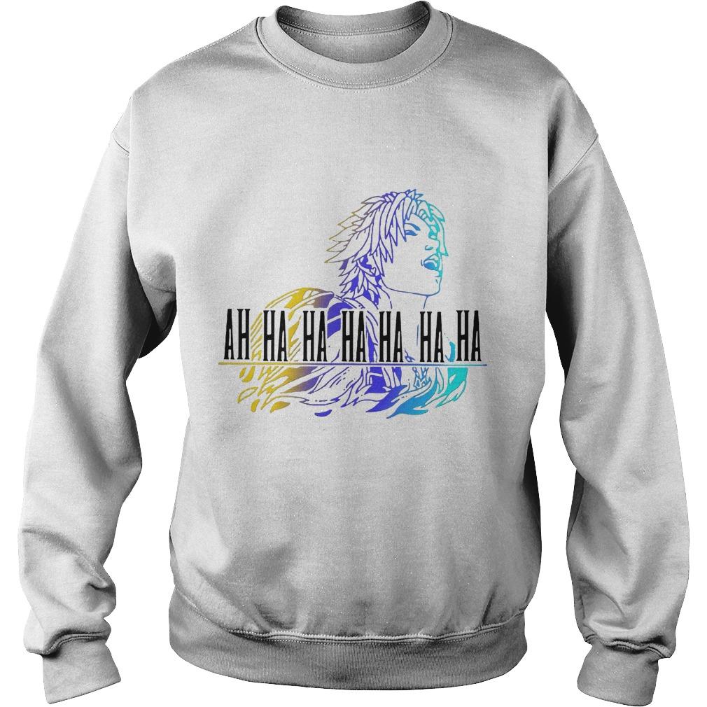 Final Fantasy Tidus Ah Ha Ha Ha Ha Ha Ha Sweater
