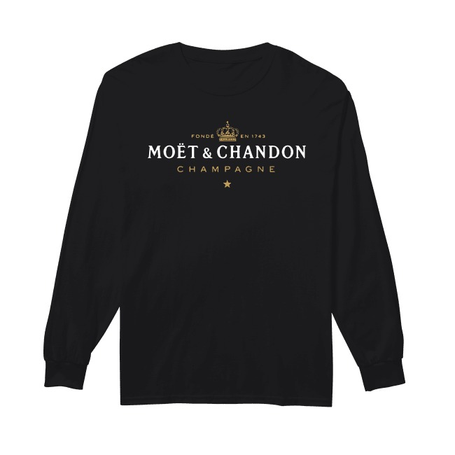 Fonde En 1743 Moet And Chandon Champagne Longsleeve Tee
