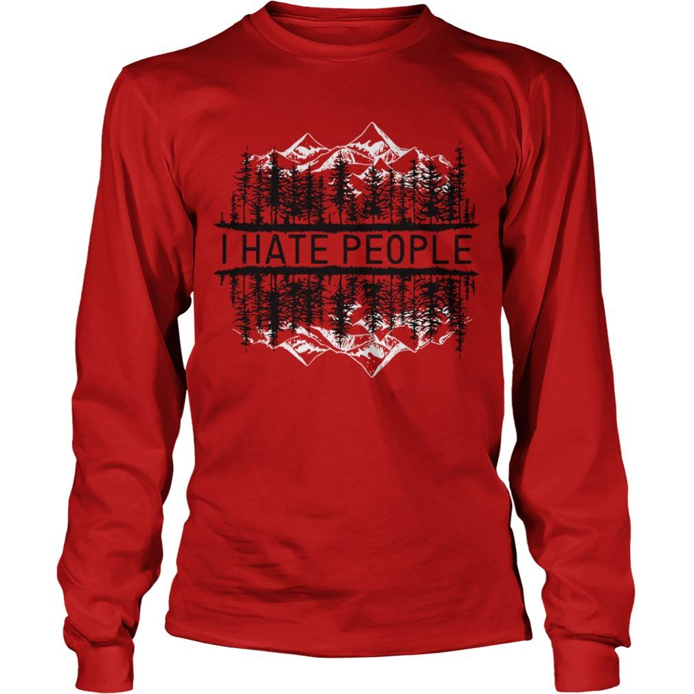 Forest I Hate People Longsleeve