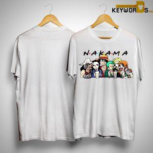 Friends Tv Show One Piece Nakama Shirt