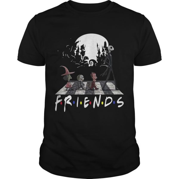 Friends Tv Show The Nightmare Before Christmas Abbey Road