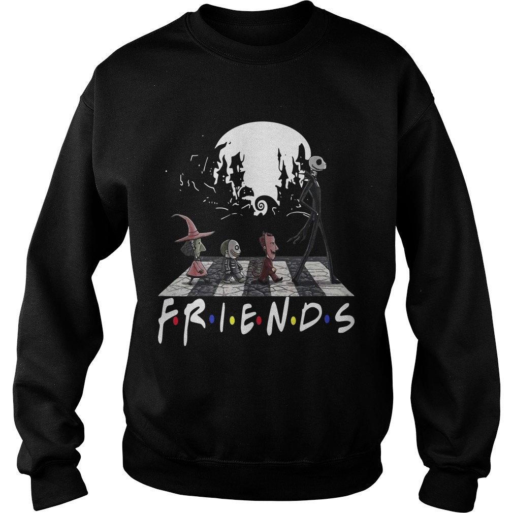 Friends Tv Show The Nightmare Before Christmas Abbey Road Sweater