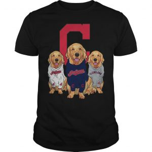Golden Retriever Cleveland Indians