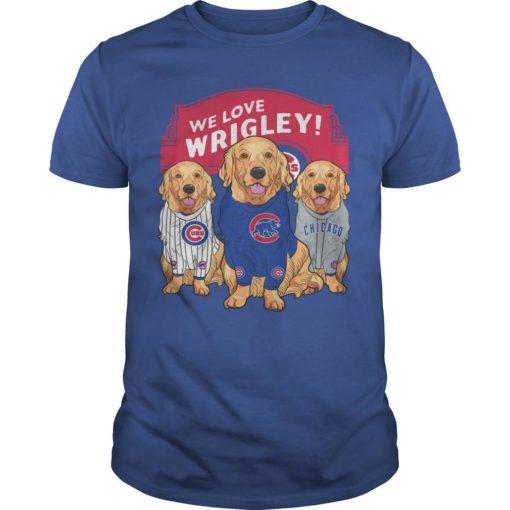 Golden Retriever We Love Wrigley