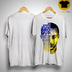 Golden State Warriors Stephen Curry 30 Steph Splash Shirt