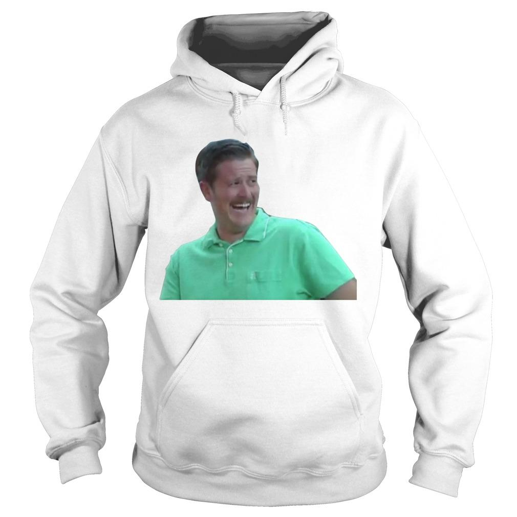 Green Guy Laughing Meme Hoodie