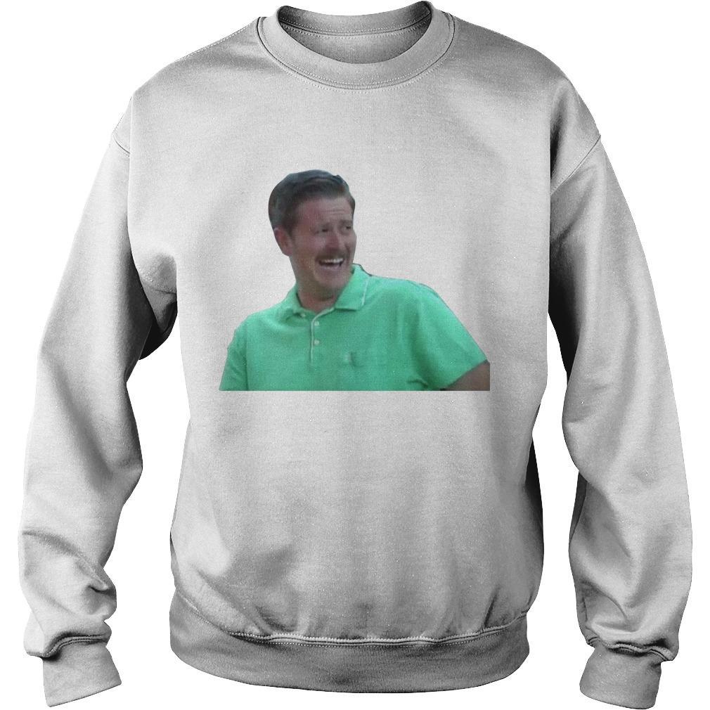 Green Guy Laughing Meme Sweater