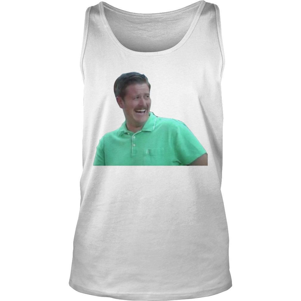 Green Guy Laughing Meme Tank Top