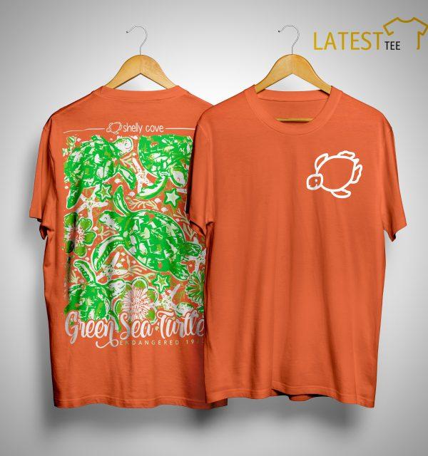 Green Sea Turtle Endangered 2019 Shirt