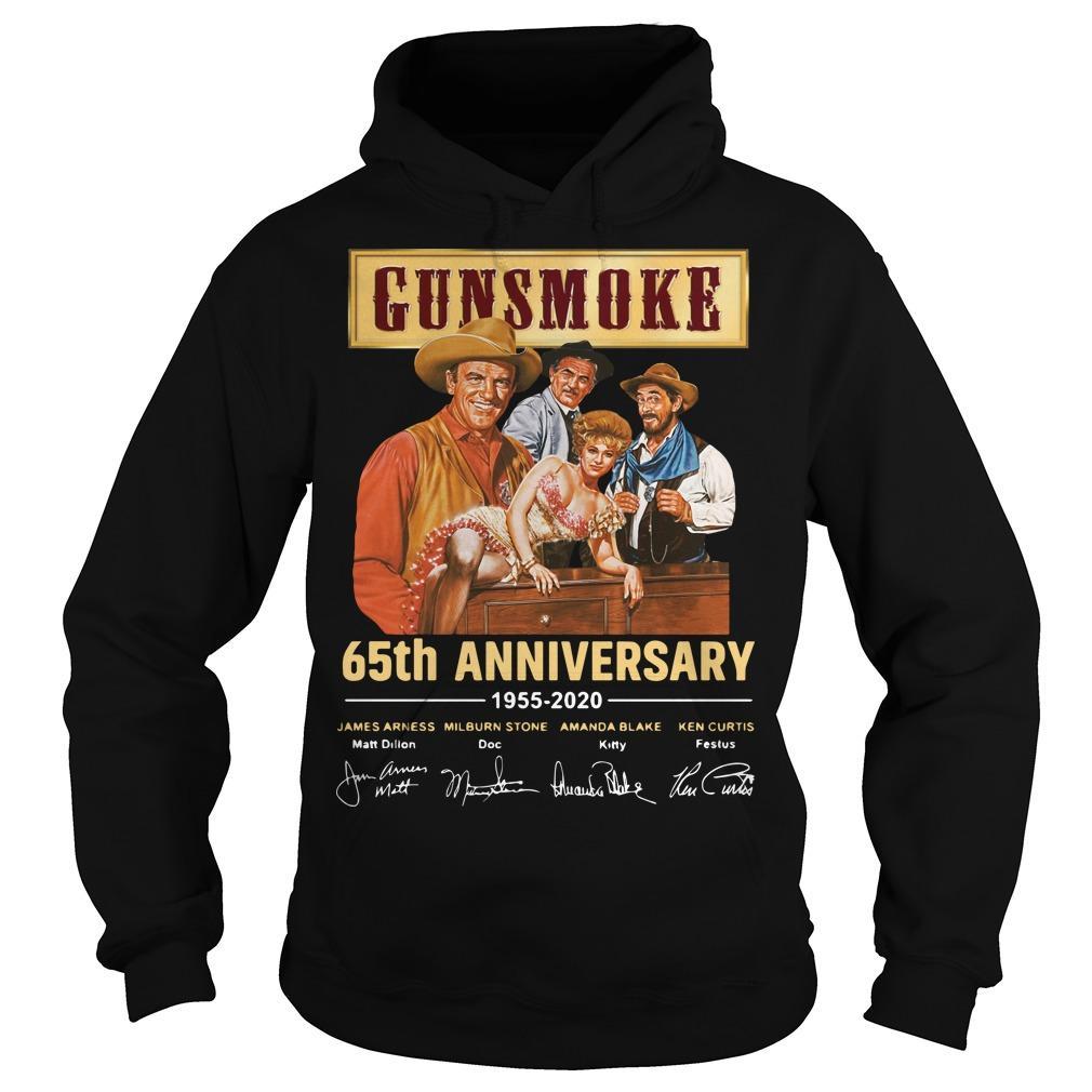 Gunsmoke 65th Anniversary 1955 2020 Hoodie