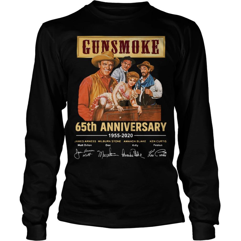 Gunsmoke 65th Anniversary 1955 2020 Longsleeve