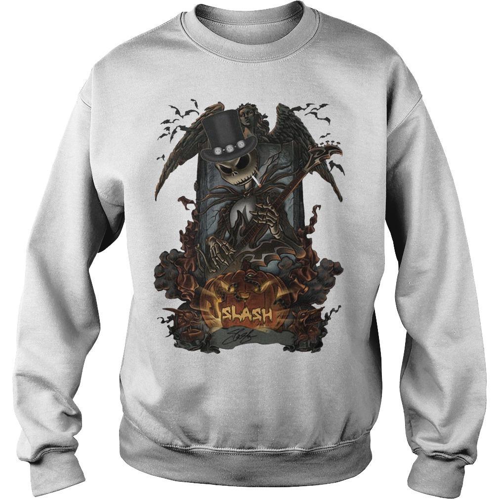 Halloween Jack Skellington Slash Sweater