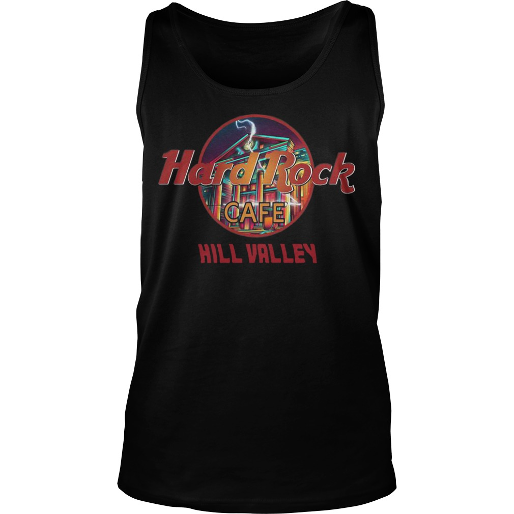 Hard Rock Cafe Hill Valley Tank Top