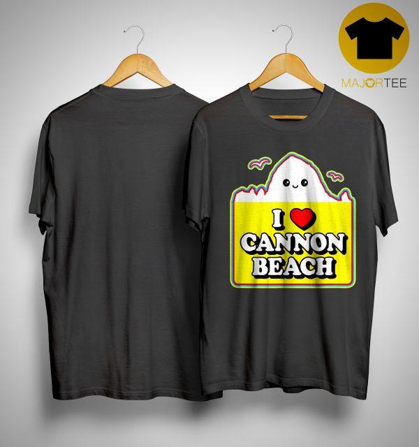 Haystack I Love Cannon Beach Shirt