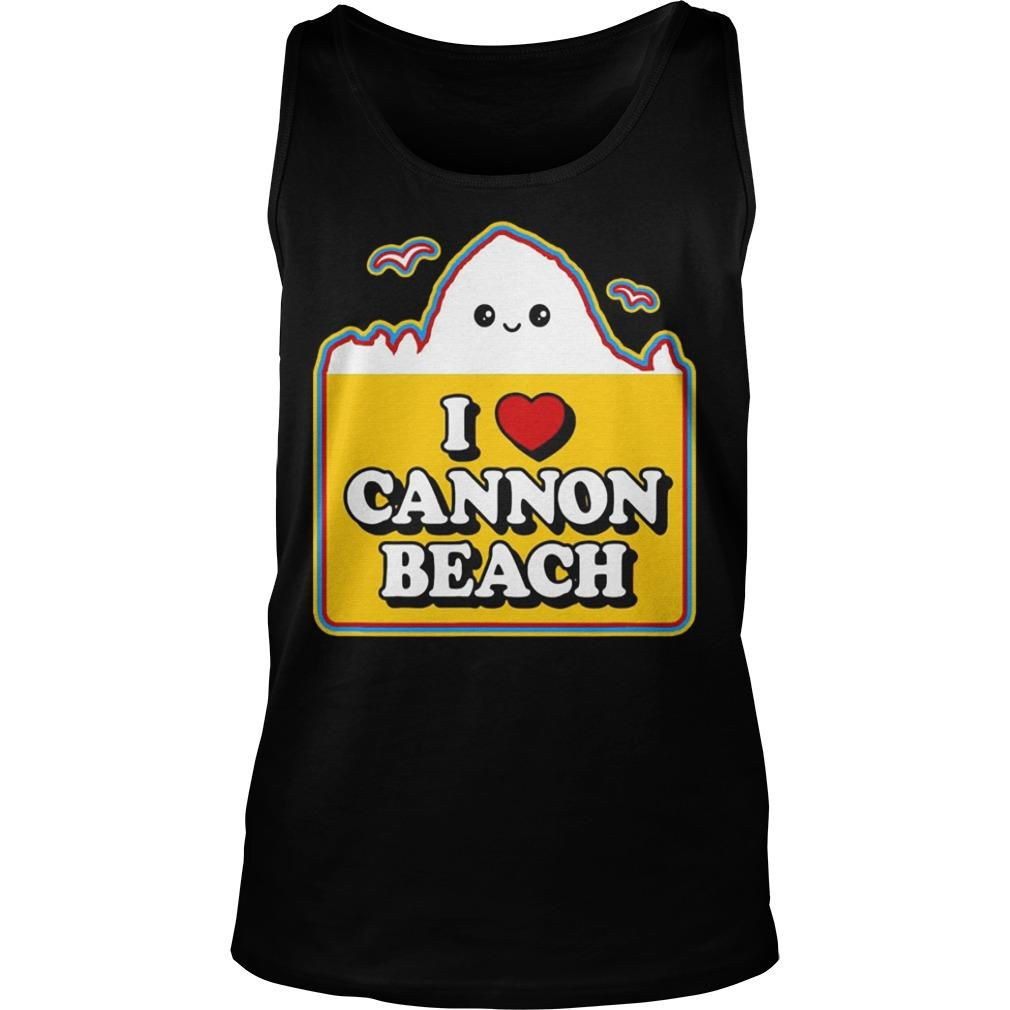 Haystack I Love Cannon Beach Tank Top
