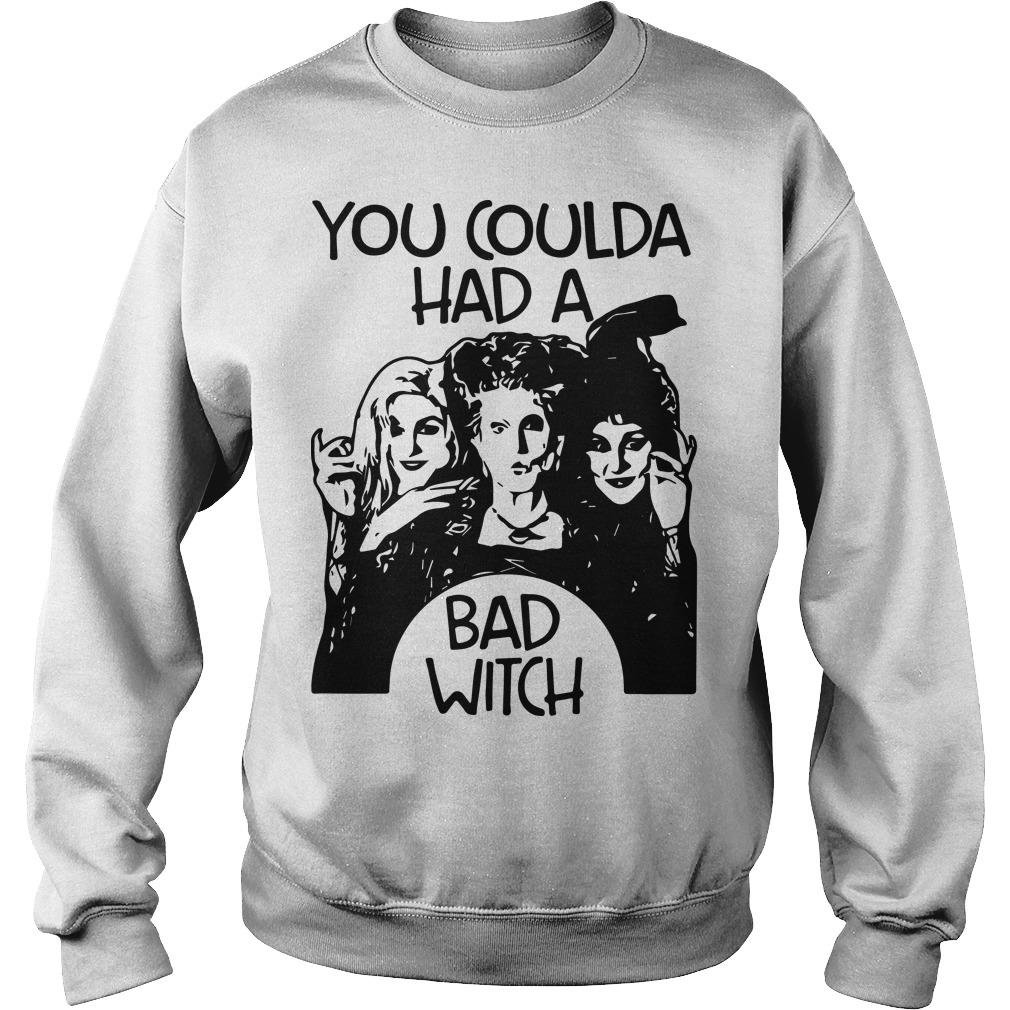 Hocus Pocus You Coulda Had A Bad Witch Sweater