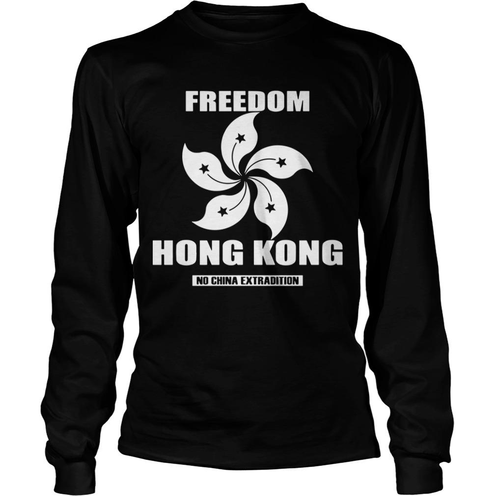 Hong Kong Worst Crisis Hong Kong No China Extradition Longsleeve