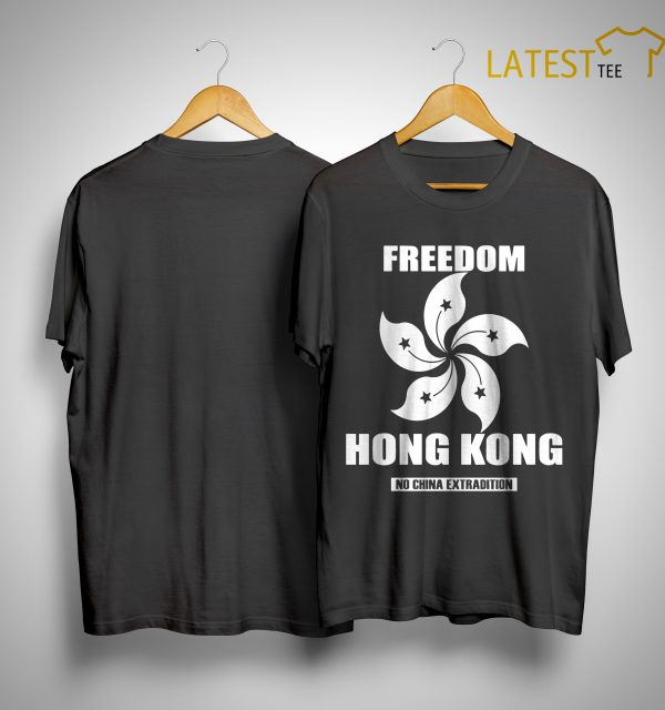 Hong Kong Worst Crisis Hong Kong No China Extradition Shirt
