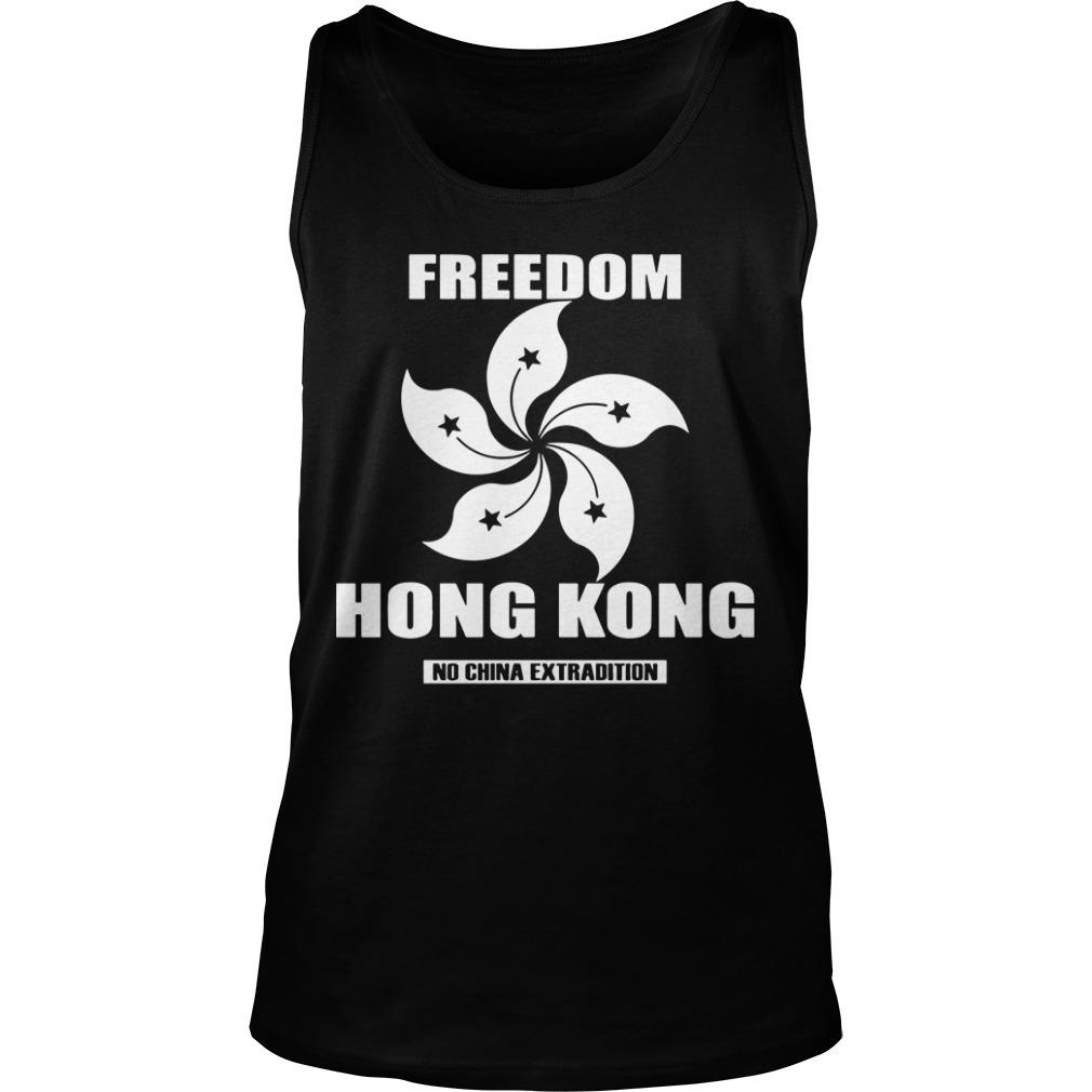 Hong Kong Worst Crisis Hong Kong No China Extradition Tank Top