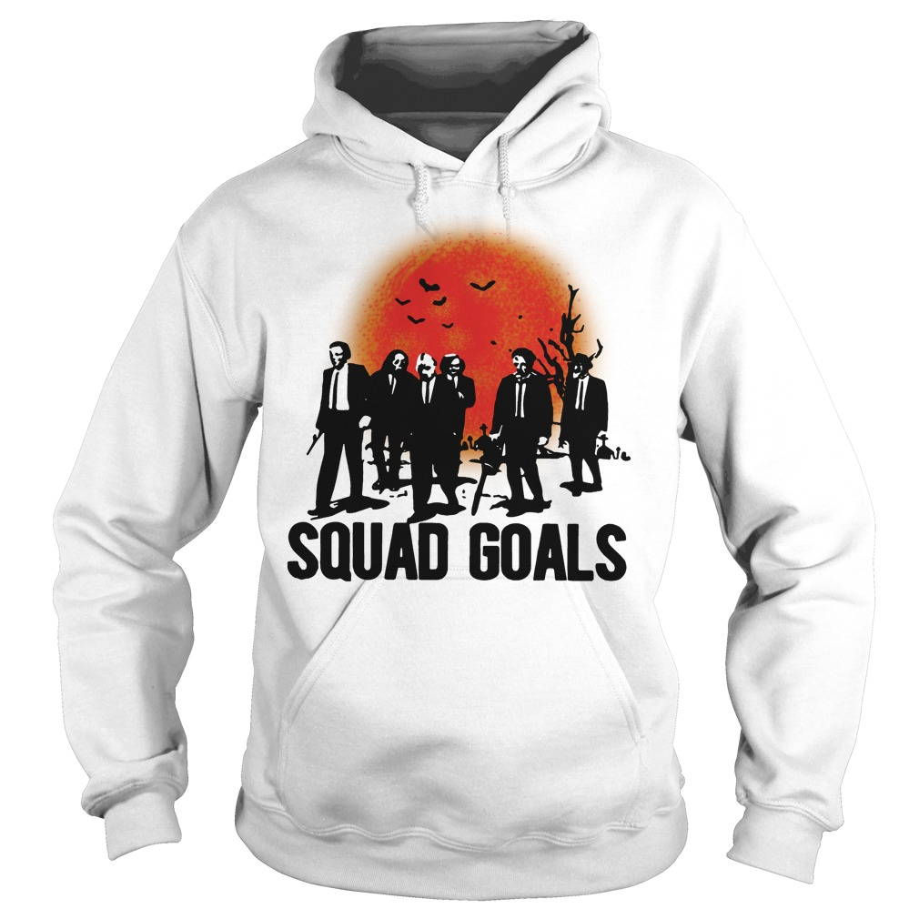Horror Characters Squad Goals Hoodie