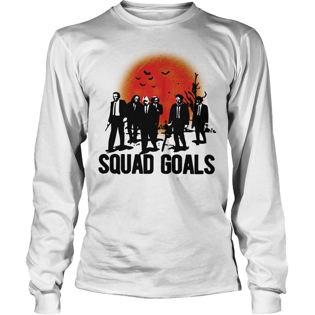 Horror Characters Squad Goals Lonngsleeve Tee
