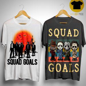 Horror Characters Squad Goals Shirt