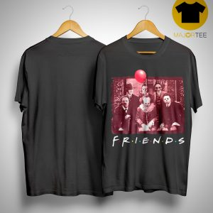 Horror Characters TV Show Friends Shirt