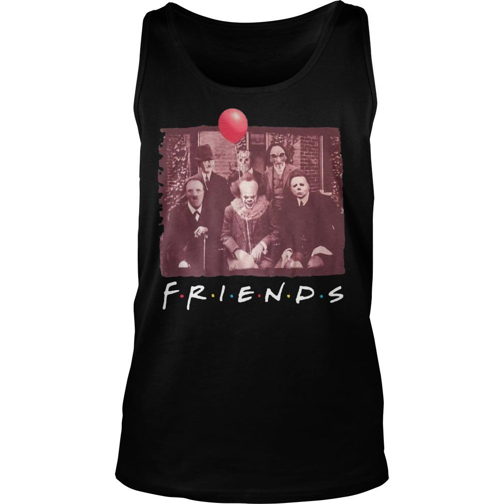 Horror Characters TV Show Friends Tank Top