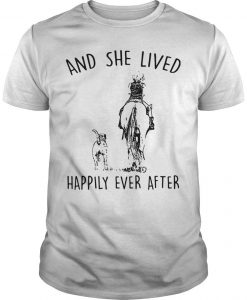Horse And Dog And She Lived Happily Ever After