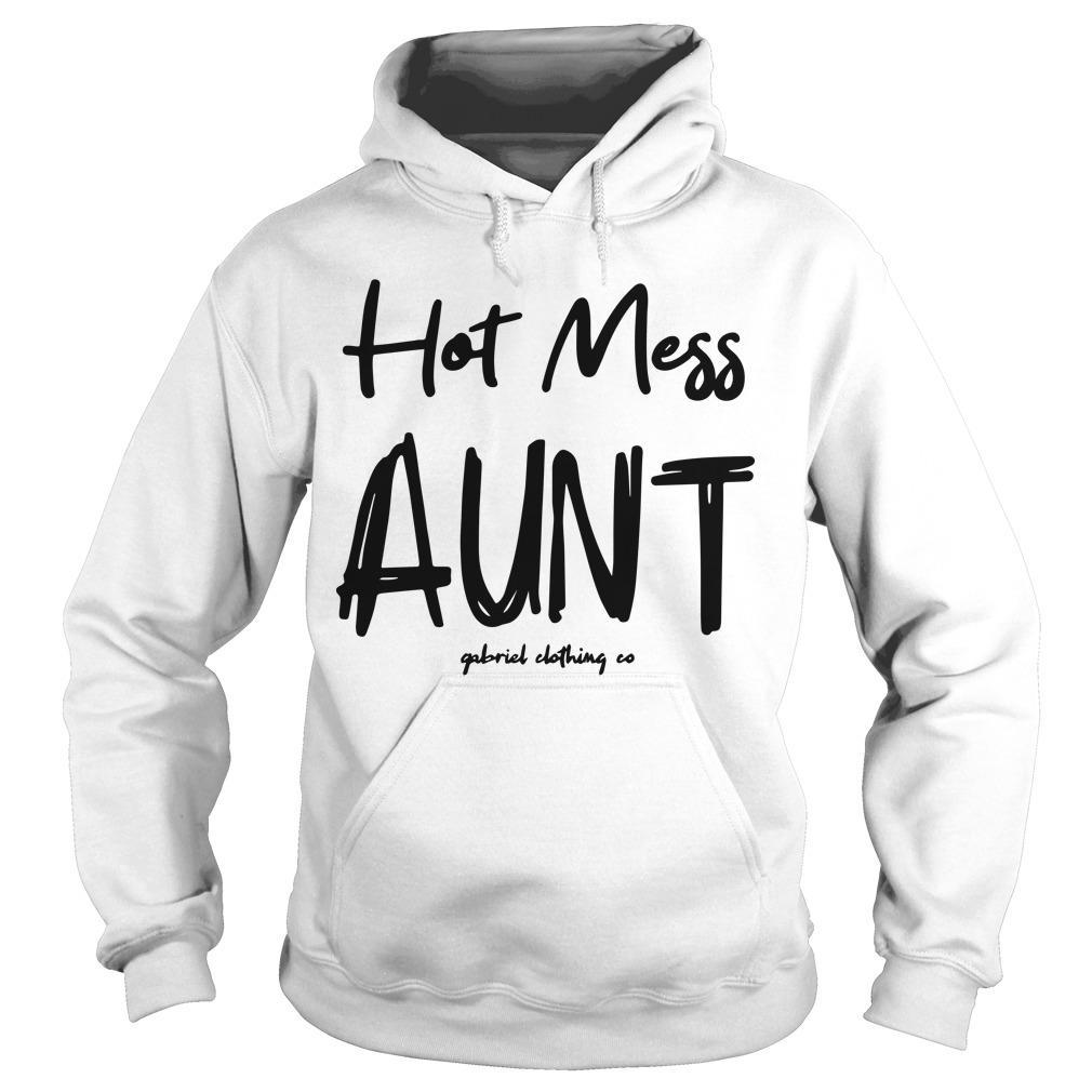 Hot Mess Aunt Hoodie