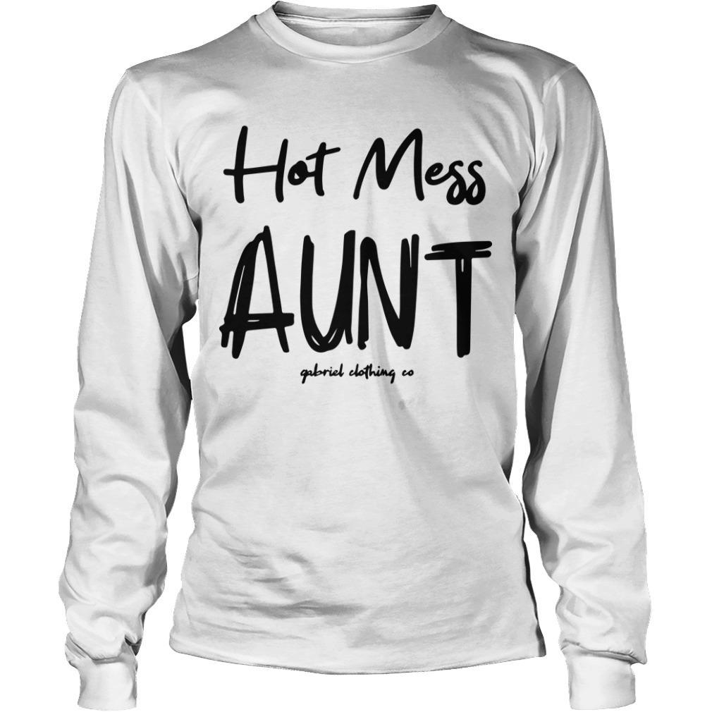 Hot Mess Aunt Longsleeve