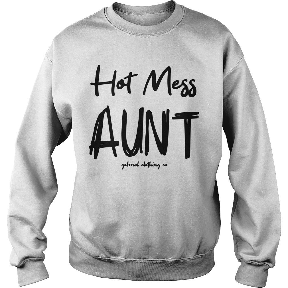 Hot Mess Aunt Sweater