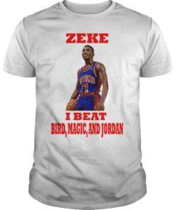 Isiah Thomas Zeke I Beat Bird Magic And Jordan