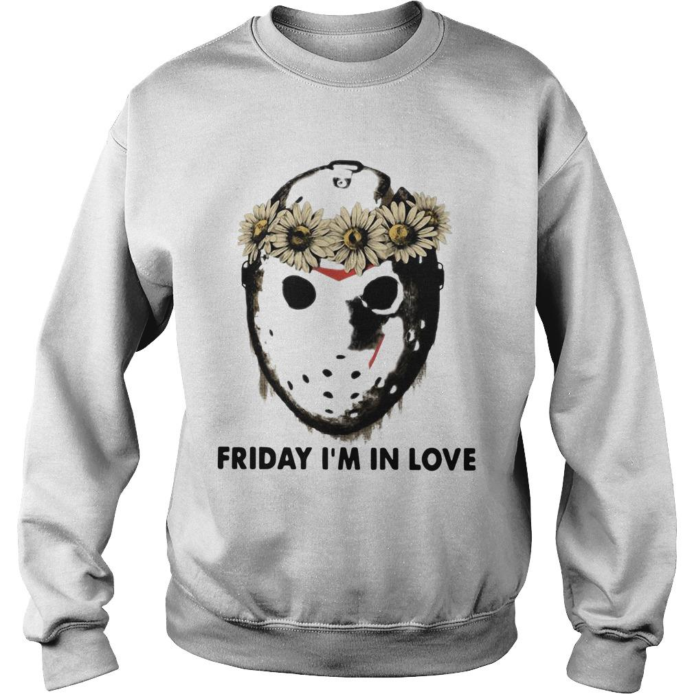 Jason Voorhees Friday I'm In Love Sweater