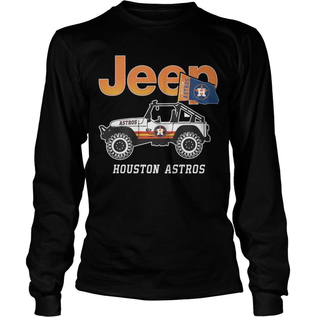 Jeep Houston Astros Longsleeve