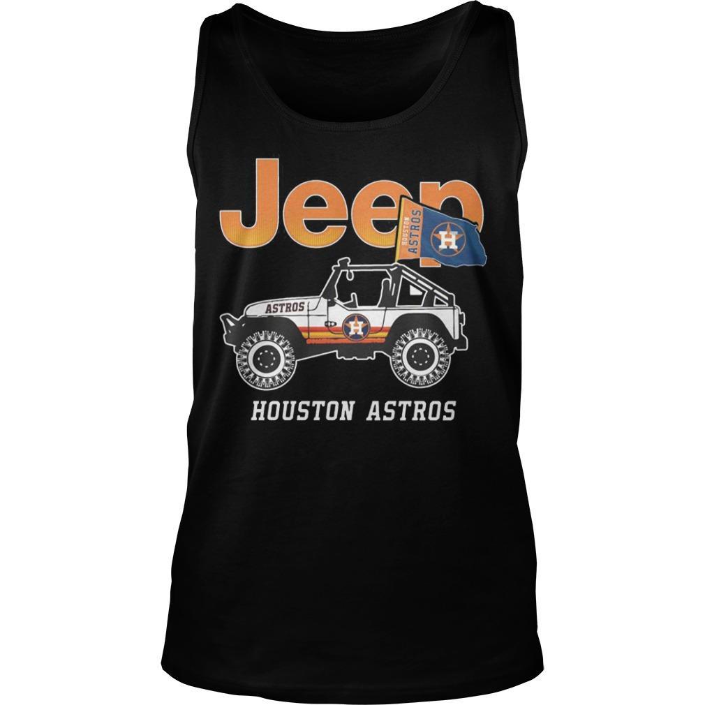 Jeep Houston Astros Tank Top