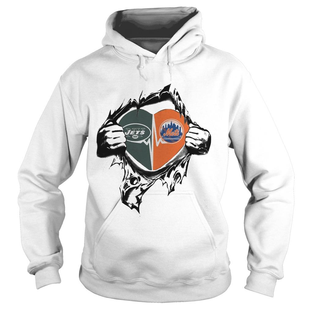 Jets Mets It's In My Heart Hoodie