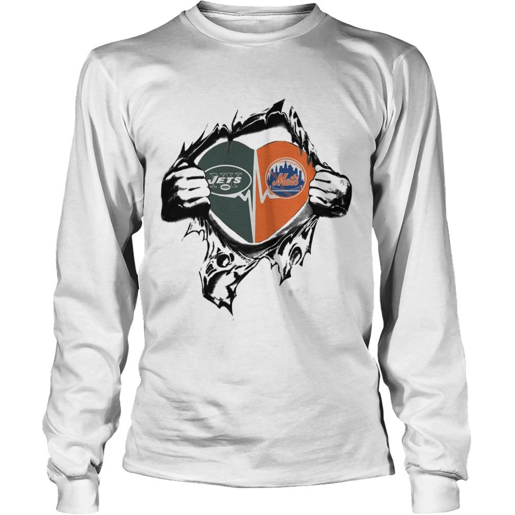 Jets Mets It's In My Heart Longsleeve