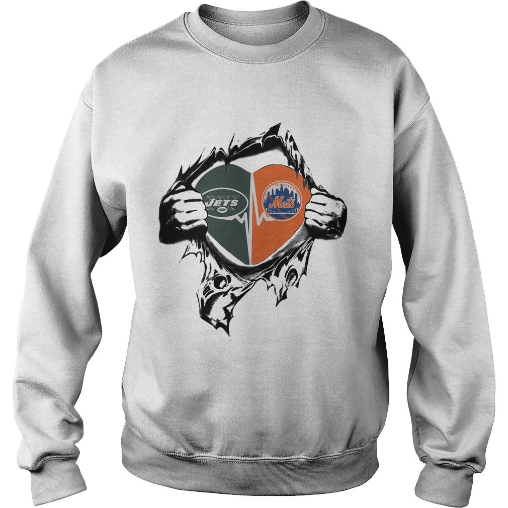 Jets Mets It's In My Heart Sweater