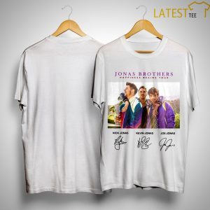 Jonas Brothers Happiness Begins Tour Signatures Shirt