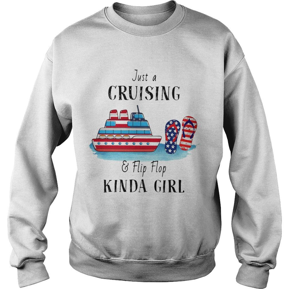Just A Cruising And Flip Flop Kinda Girl Sweater