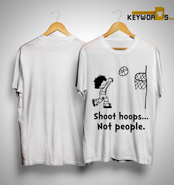 huge discount 05c90 f34b4 Kyle Kuzma Shoot Hoops Not People Shirt