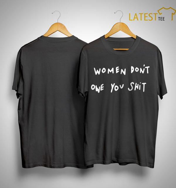 Kyrie Irving Women Don't Owe You Shit Shirt