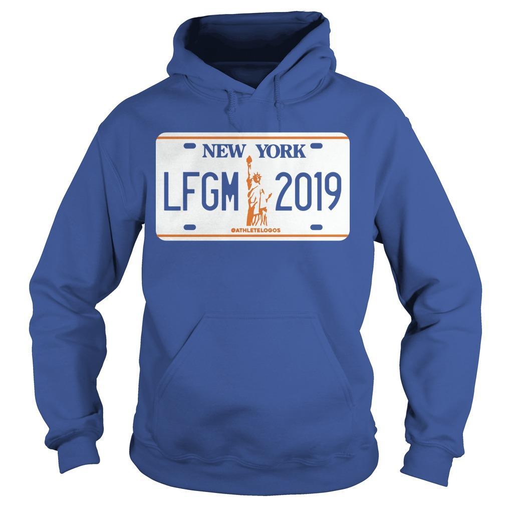 LFGM License Plate New York 2019 Hoodie