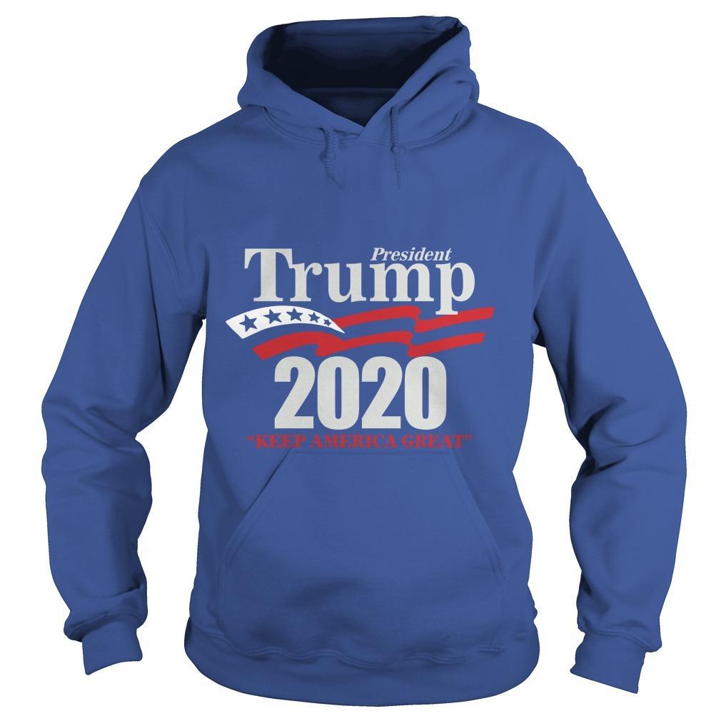 Lady Rose President Trump 2020 Keep America Great Hoodie