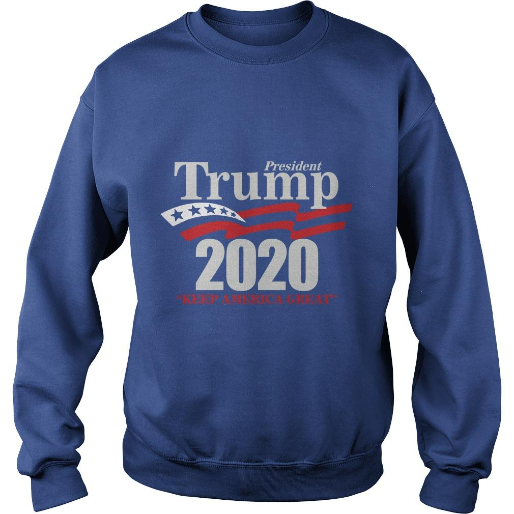 Lady Rose President Trump 2020 Keep America Great Sweater