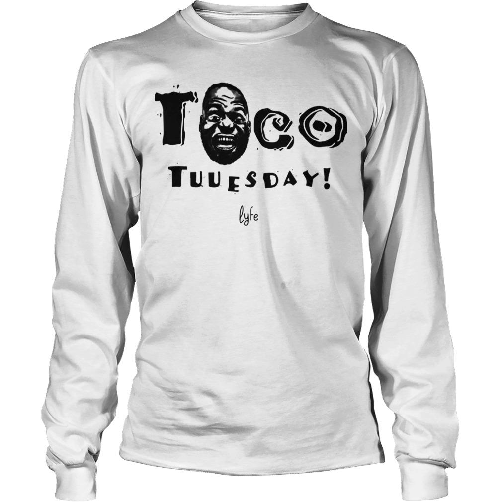Lebron James Taco Tuesday Longsleeve