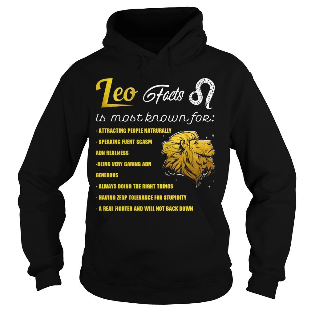 Leo Feets Is Most Known For Attracting People Naturally Hoodie